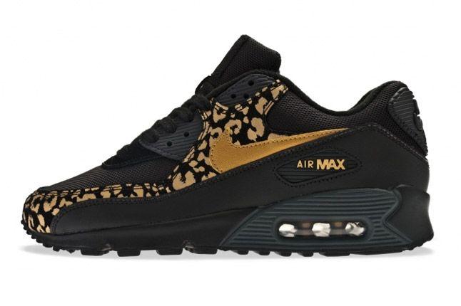 Air Max 90 Metallic Leopard Pack Black Profile 1