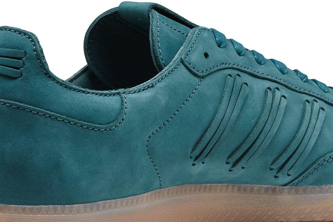 Adidas Consortium Womens Samba Deep Hue Pack Green 6