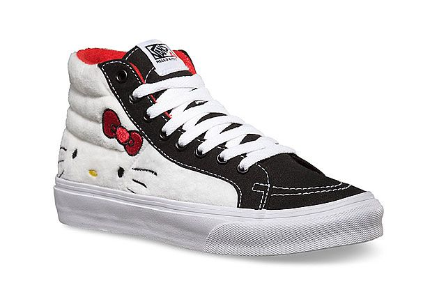 Hello Kitty X Vans Summer 2014 Collection Sk8 Hi 3