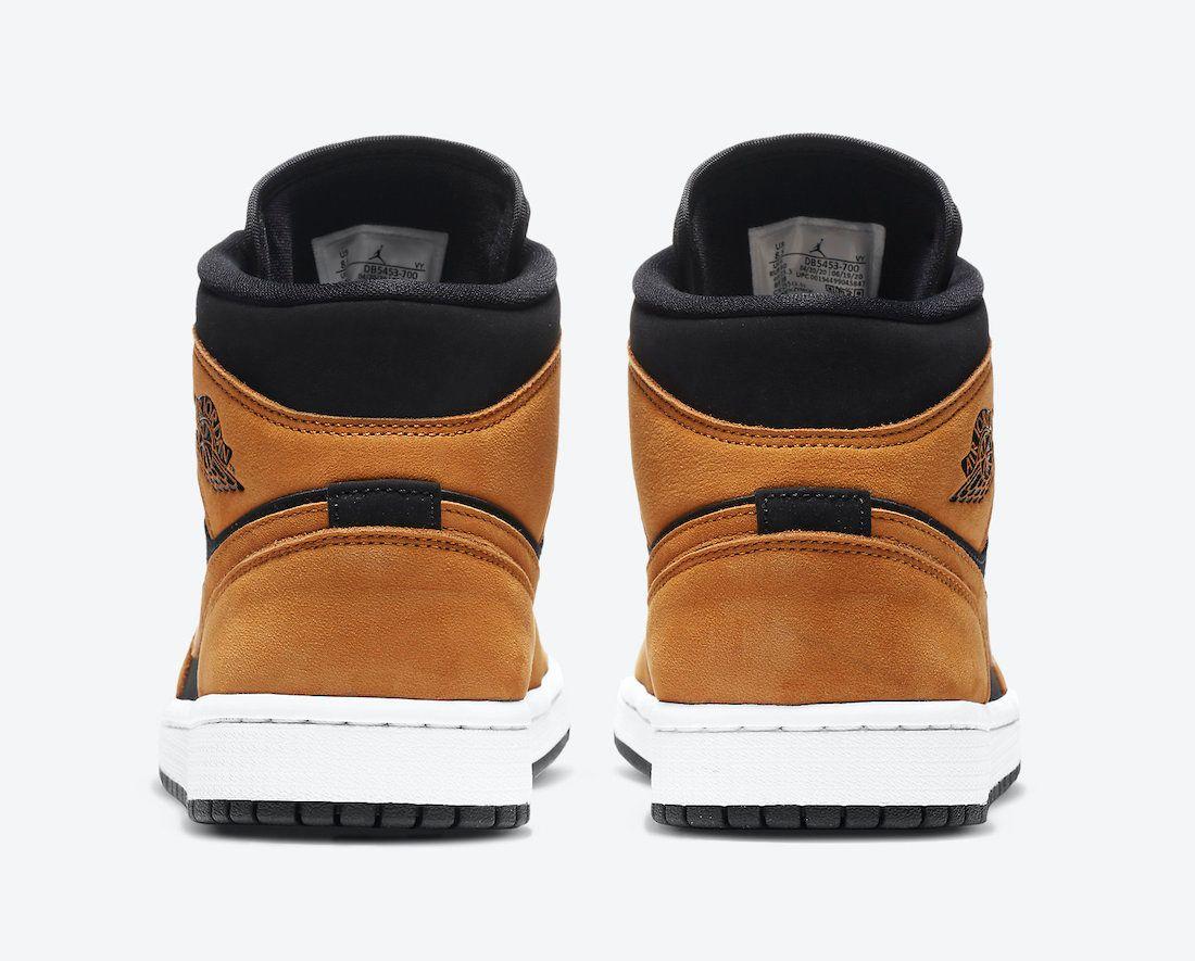 Air Jordan 1 Mid Wheat