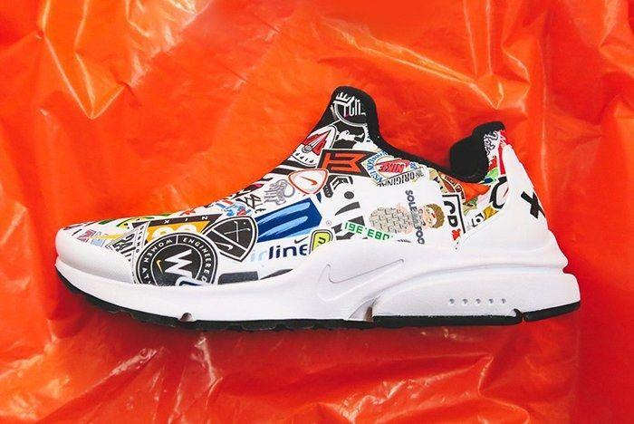 Nike Presto Custom Logo