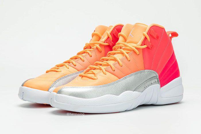 Air Jordan 12 Gs Hot Punch 510815 601 Release Date Pricing Pair