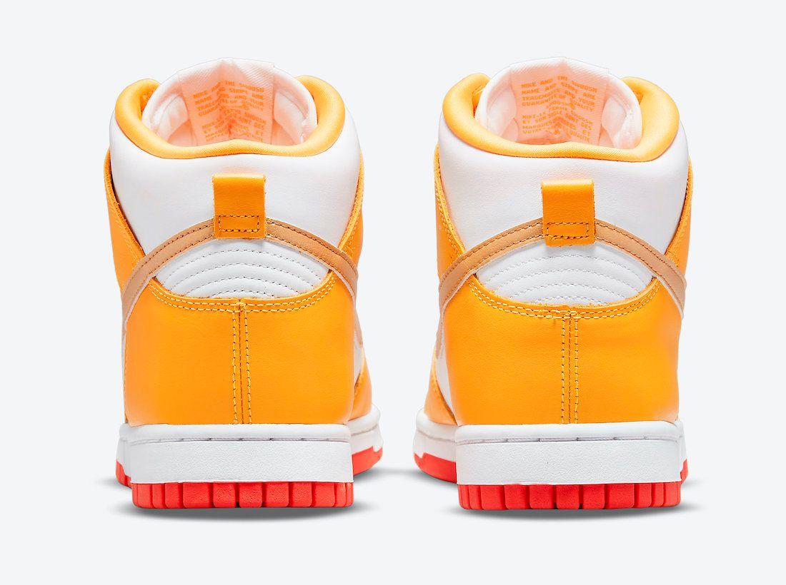 Nike Dunk High Laser Orange