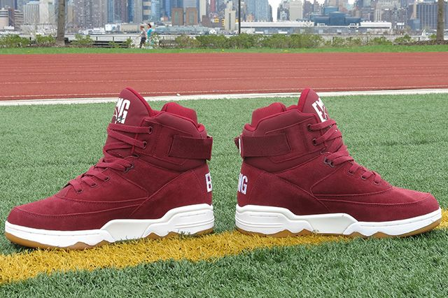 Ewing Athletics 33 Hi Burgundy 4