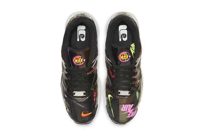 Atmos Nike Air Max2 Light Black Alternate First Look Release Date Top Down