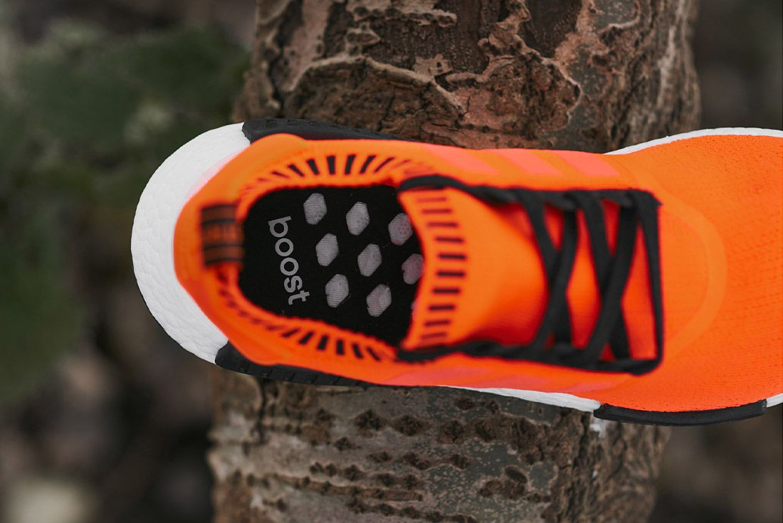 Size X Adidas Nmd R1 Orange Noise Invisble Pack Sneaker Freaker 2