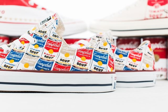 Andy Warhol Converse Collection Bump 4