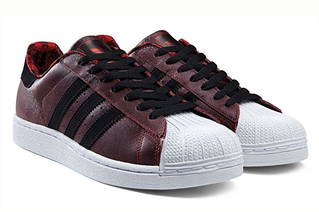 Adidas Originals Superstar Red Year Of The Horse Profile 1