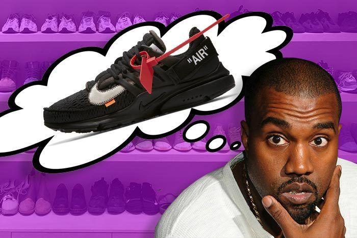 Kanye West Nike Off White Presto