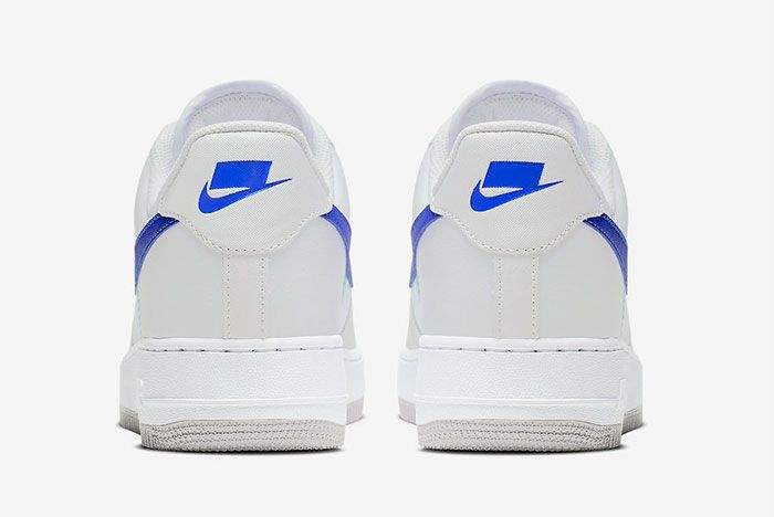 Nike Air Force 1 Low Racer Blue Ci0060 001 Heel Shot