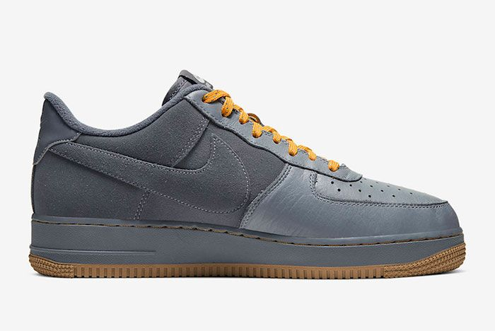 Nike Air Force 1 Low Cool Grey Yellow Cq6367 001 Release Date 2Side