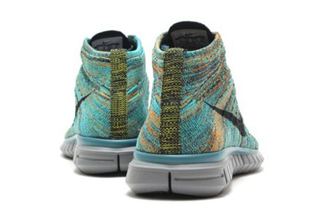 Nike Free Flyknit Chukka Mineral Teal