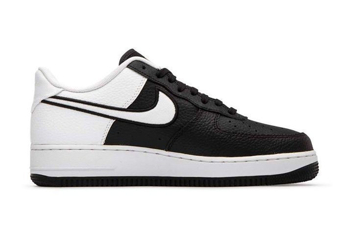 Nike Air Force 1 Low Lv8 Black White Right Shot