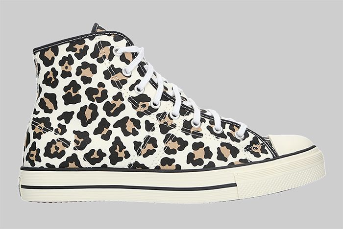 Converse Lucky Star High Leopard Right