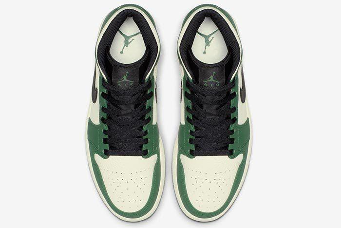 Air Jordan 1 Pine Green 4