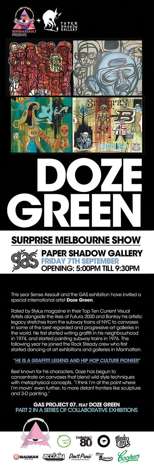 Doze Green Exhibition 2