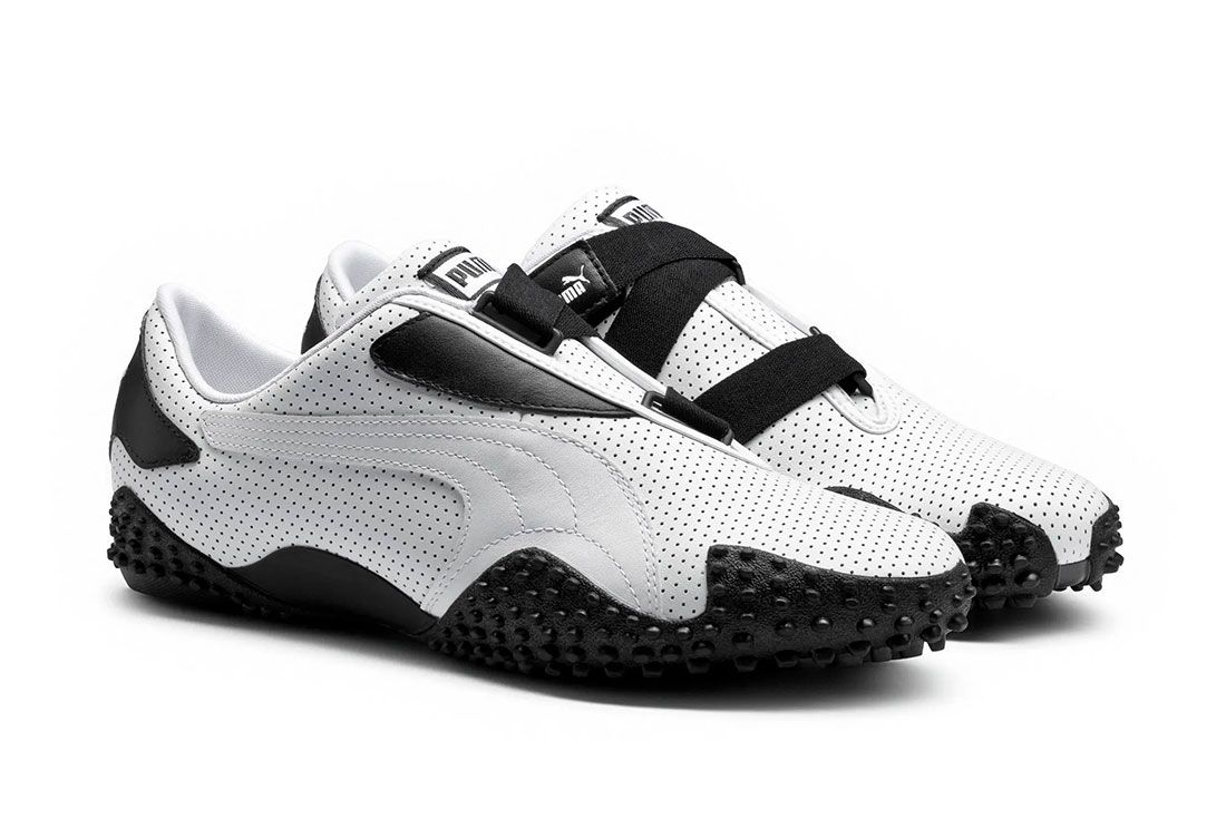 PUMA Mostro White Perforated