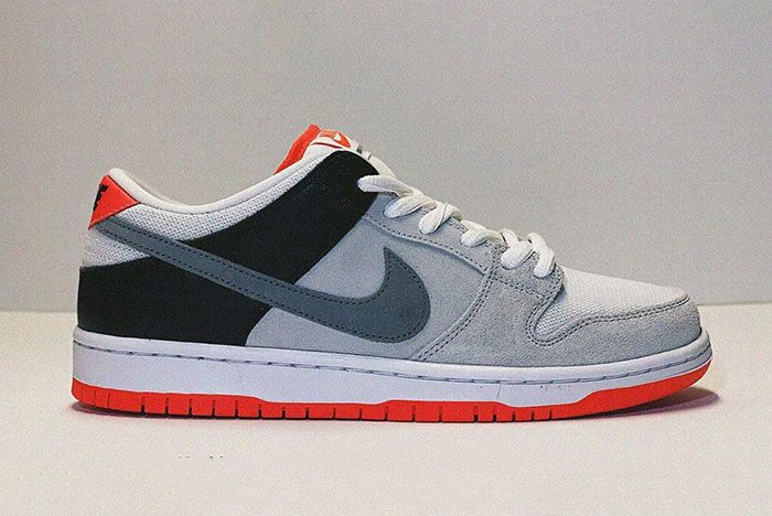 Nike Sb Dunk Low Infrared Side