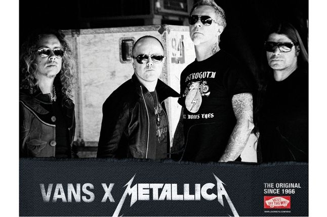 Vans Metallica Collab Poster 1
