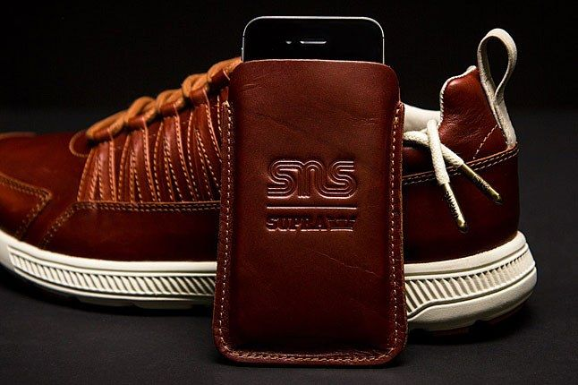 Sns Supra Leather Iphone Case 1