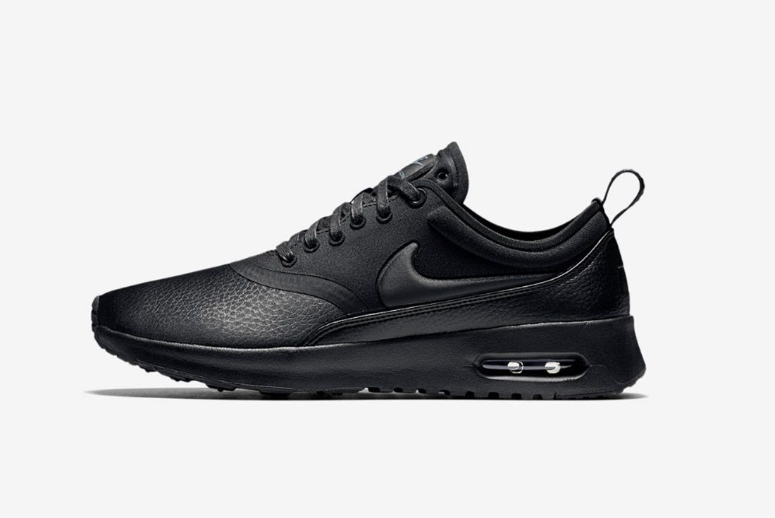 Nike Air Max Thea Premium Womens Beautiful Powerful Black 3