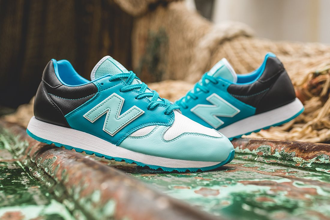Hanon X New Balance U520 Hnf Fishermans Blues Feature