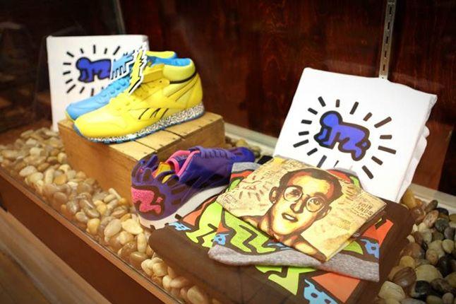 Reebok Keith Haring Bodega Launch Collection 1