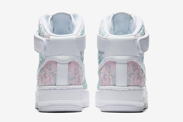 Nike Air Force 1 Upstep High Sequin 5