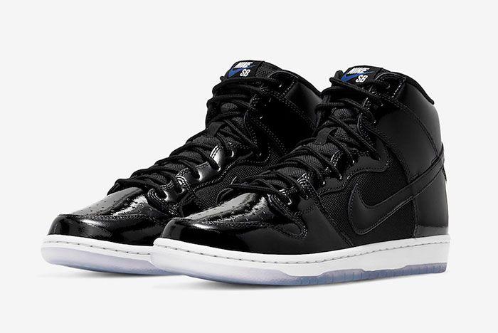 Nike Sb Dunk High Space Jam Bq6826 002 Release Date 4 Pair