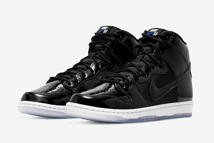 Nike Sb Dunk High Space Jam Bq6826 002 Release Date 4 Pair