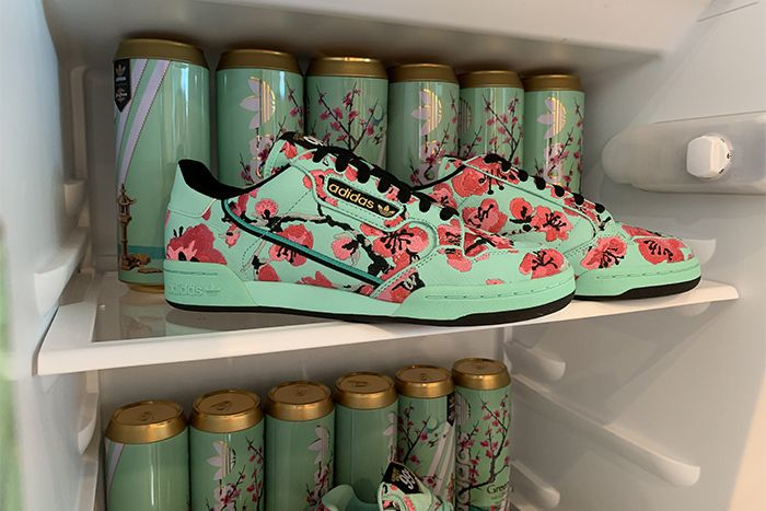 Arizona Iced Tea Adidas Continental 80 Release Date Fridge