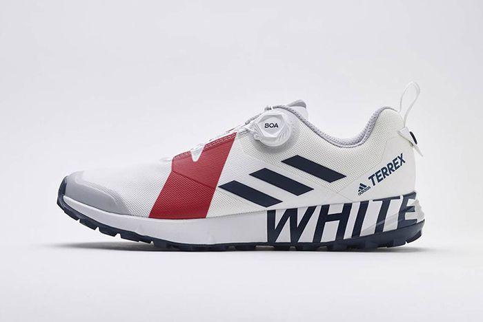 Adidas Terrex White Mountaineering White Red 4 Sneaker Freaker