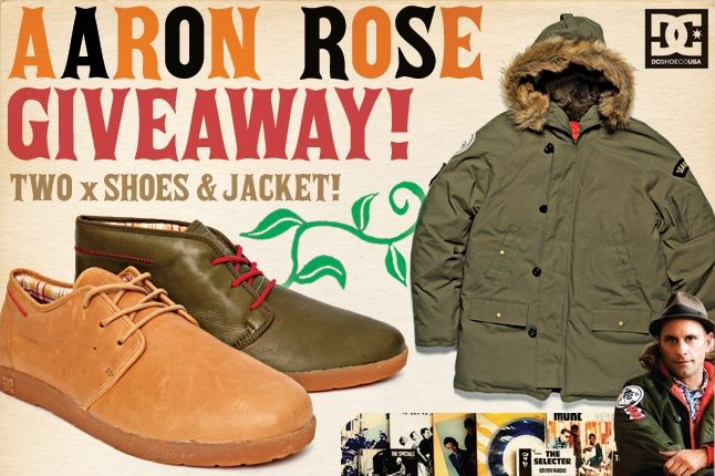 Win The Aaron Rose Shoes Jacket 1