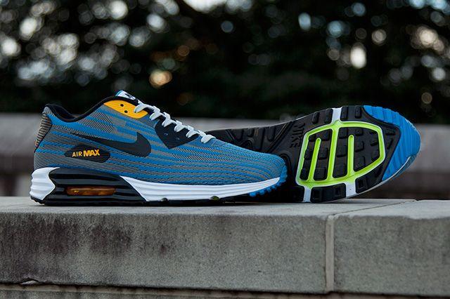 Nike Air Max Lunar 90 Jacquard Grey Blue