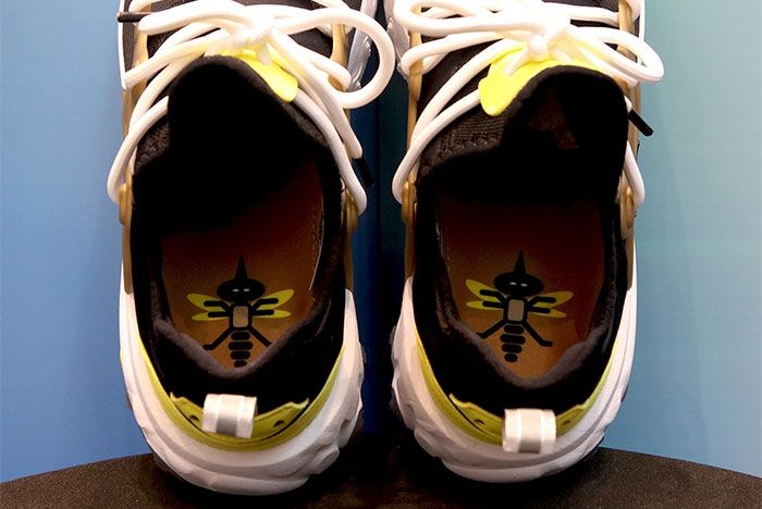 Nike React Presto Black Yellow Gold Brutal Honey Insole Shot 11
