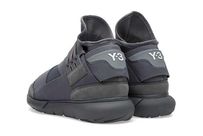 Adidas Y 3 Qasa High Vista Grey 5