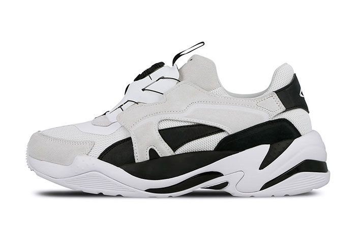 Puma Thunder Disc White Left