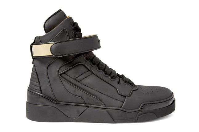 Givenchy Leather0High Top Sneakers 4