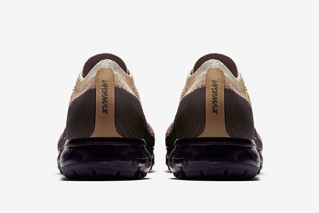 Nike Air Vapormax Tan Brown Black 2