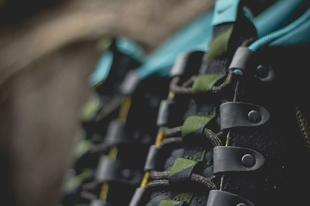 Nike Roshe Run Sneakerboot Dark Loden Mineral Teal 2