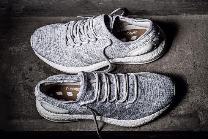 New Adidas Purebost Grey 1