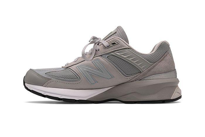 Engineered Garments New Balance 990V5 Grey Medial