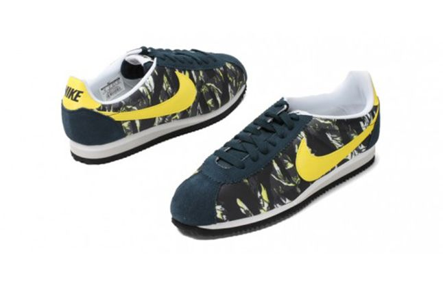 Nike Cortez Prm Tiger Camo Pack Yellow 2 1