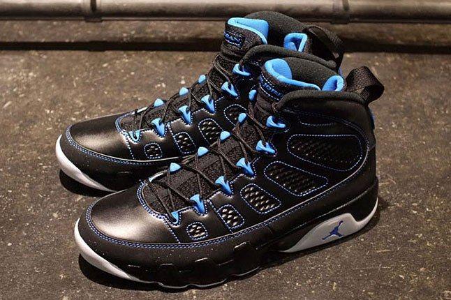 Air Jordan 9 Black Blue 1