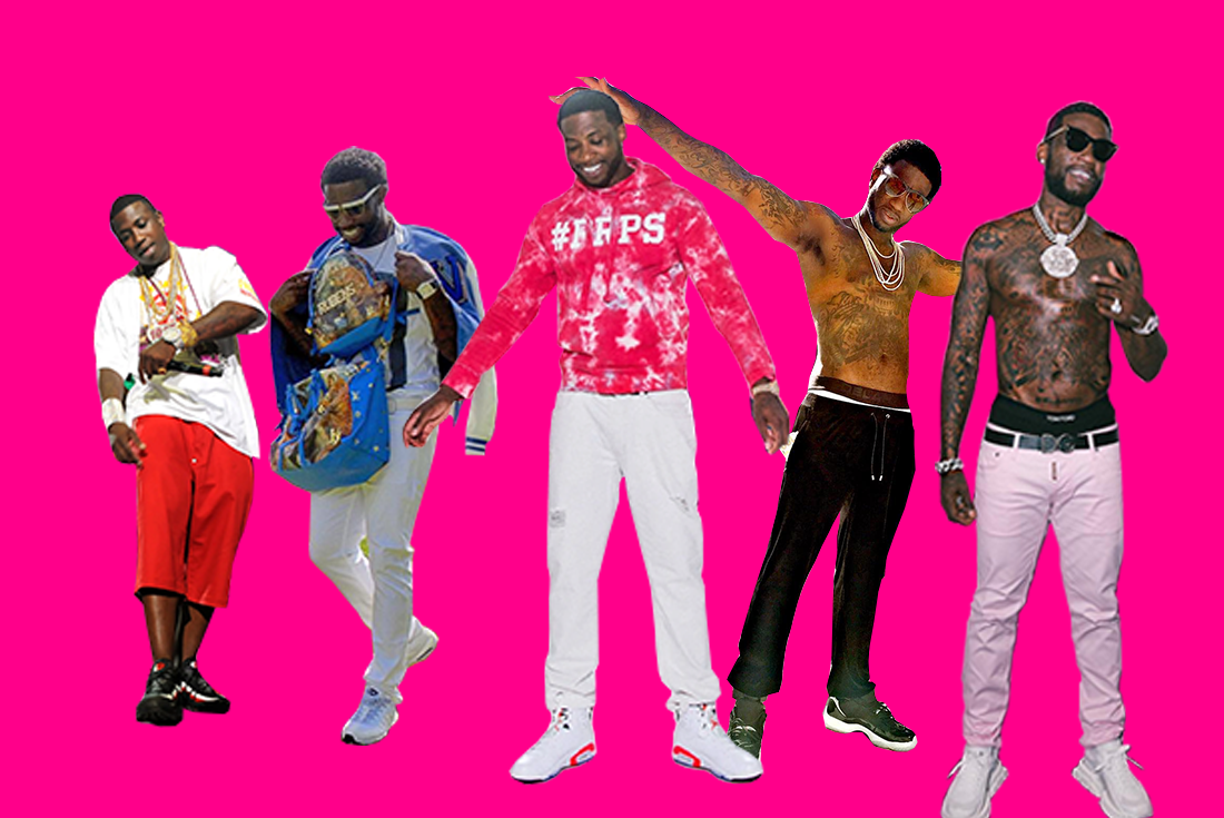 Gucci Mane Sneaker Evolution