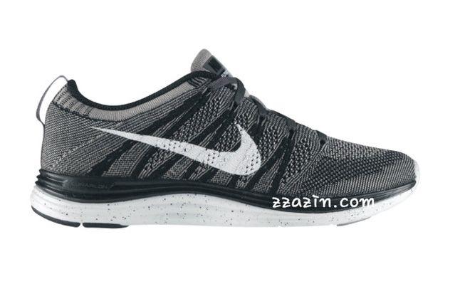 Nike Wmns Flyknit Lunar1 Black Grey 1