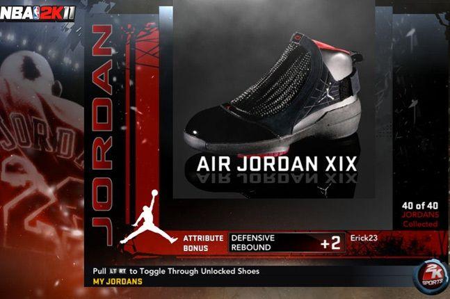 Jordan Nba 2K11 Xix 1
