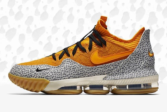 Nike Lebron 16 Low Safari 1