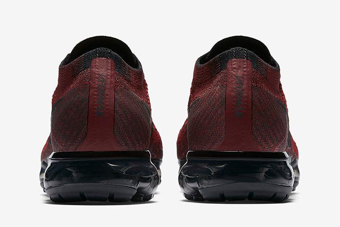 Nike Air Vapor Max Dark Team Red3