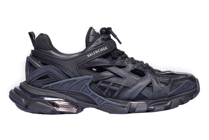 Balenciaga Track 2 Faded Black Right